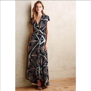 Maeve desert star maxi dress